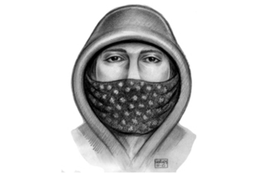 Police released a sketch of the suspect who cut the right side of a woman's face on Jan. 31, 2015.