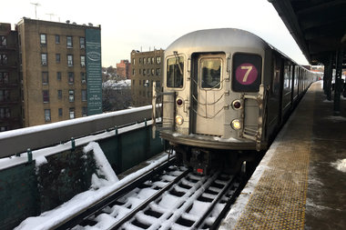 Local leaders and transit advocates want the MTA to do a full review of service on the 7 line.