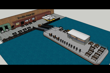 Brooklyn Barge Bar will be a bar and restaurant on a boat.