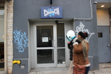 Bushwick's Crunch Fitness location at 785 Flushing Ave. has yet to open even though it began signing up members in spring 2013.