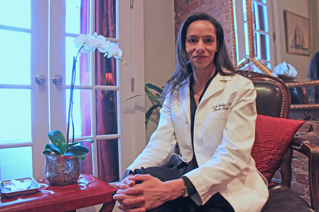 Dr. Sonita Sadio recently opened a members-only plastic surgery practice on West Fourth Street.