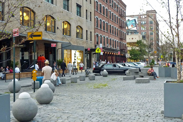 Gansevoort Plaza will close this summer for a two-year construction project.