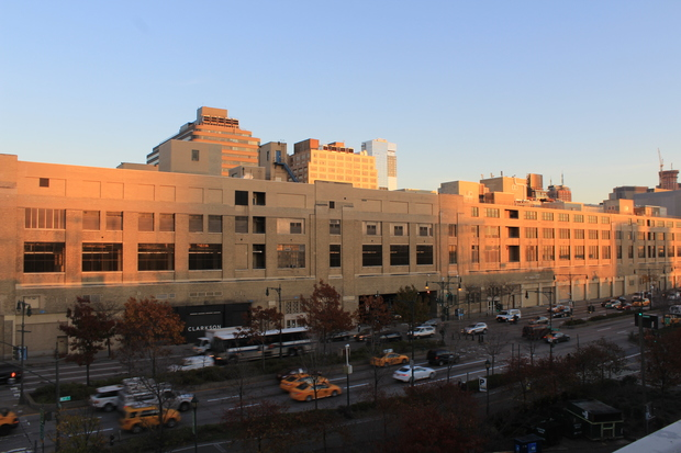 The controversial St. John's Terminal development at 550 Washington St. in Hudson Square received an official stamp of approval from the City Planning Commission on Monday.
