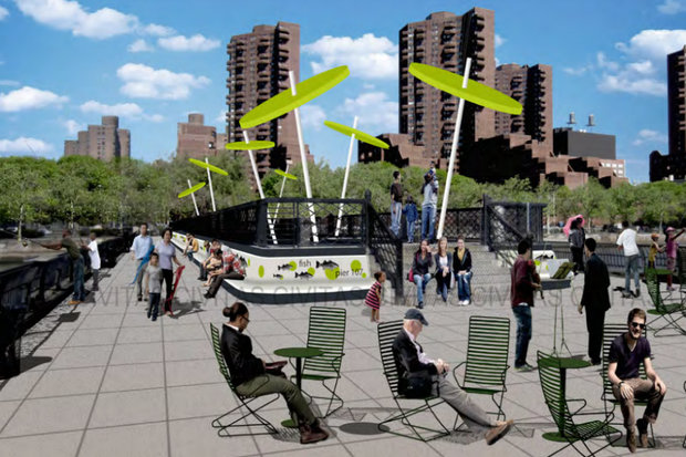 One of this year's participatory budgeting items is to reopen pier 107 to the public.