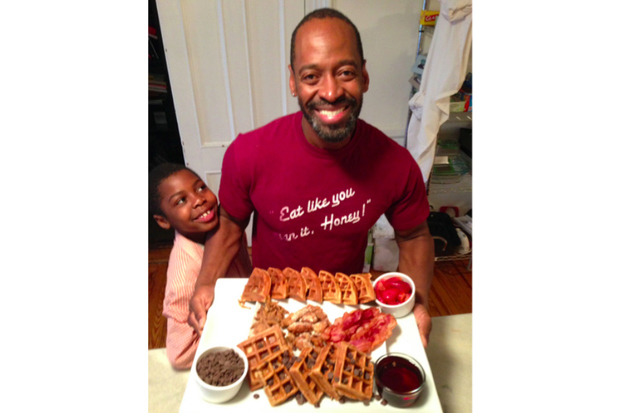 Randy Stricklin-Witherspoon keeps Broadway well fed on soul food.