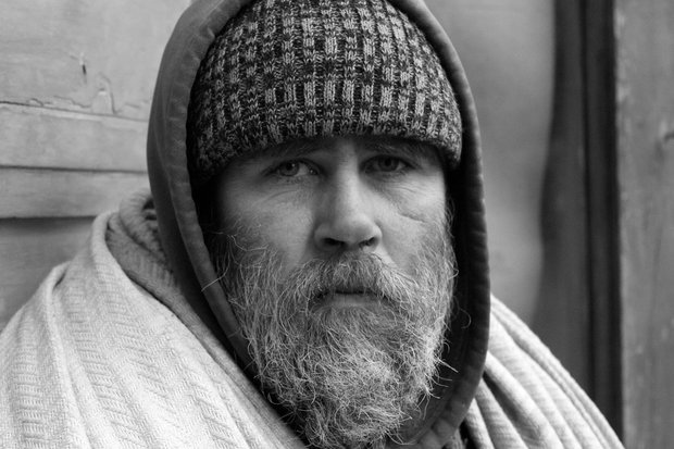 "Real estate agent and photographer Justyna Czekaj shares the stories and portraits of the homeless community in ""Coffee with the Homeless."""