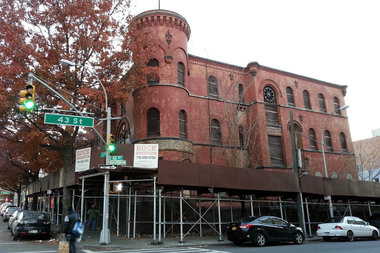 The former 68th Precinct at 4302 Fourth Ave. in Sunset Park.