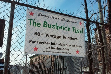 The Bushwick Flea will debut the first weekend of April 2015.