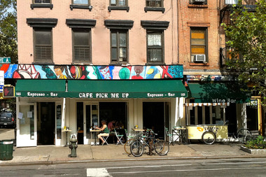Cafe Pick Me Up, which has been in business at 145 Avenue A since 1995, will downsize due to a rent hike, according to a manager.