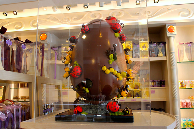 10k Chocolate Easter Egg On Display At Uws Candy Shop Upper West