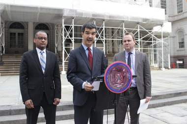 The money came from Ydanis Rodriguez's settlement with the city over his Occupy Wall Street arrest.