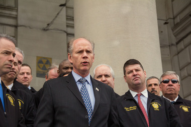 Rep. Dan Donovan introduced his first bill aimed at reforming aspects of FEMA for residents dealing with them after storms.
