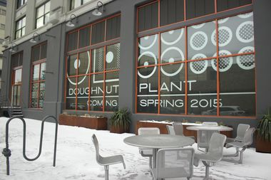 Doughnut Plant is opening a production space and small shop at the Falchi Building in Long Island City.