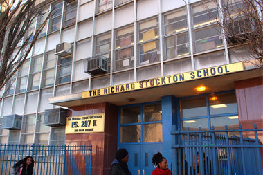 Faculty and parents at the Ethical Community Charter School, which shares a building with P.S. 297 in Bed-Stuy, are calling for Schools Chancellor Carmen Farina to reconsider the school's closure.
