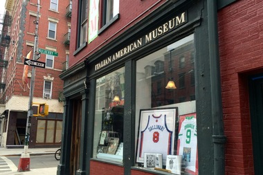 The Italian American Museum, located on the corner of Mulberry and Grand streets. The museum owns 185 Grand St., where 85-year-old Little Italy resident Adele Sarno has lived since 1962.