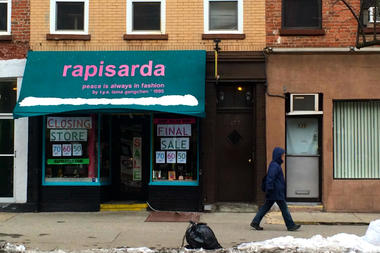 Rapisarda, a boutique on Court Street in Cobble Hill, closed its doors on March 15, the owner said.