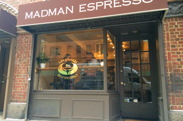 A new coffee shop opened on University Place.