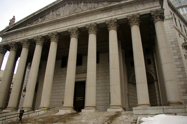 New York State Supreme Court in Manhattan.