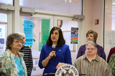 De Blasio's campaign criticized Malliotakis for her