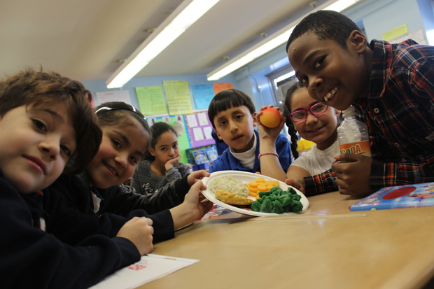 Community Healthcare Network ran a pilot children's nutritional program at P.S. 250, located at 108 Montrose Ave. Healthy eating habits need to start early for growing bodies, nutritionists said.