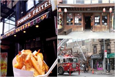 The Restaurants Were Destroyed Thursday