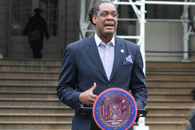 Councilman Robert Cornegy is co-sponsoring a bill that would penalize landlords for commercial tenant harassment.