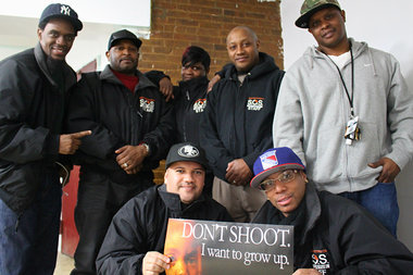 Members of Save Our Streets Bed-Stuy hope to decrease gun violence by mediating neighborhood conflicts and providing a support system for
