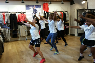 Krista Martins brings her Caribbean-inspired Wukkout! fitness class to Bed-Stuy this March. Dance moves and tunes are meant to make students feel like they're a part of a carnival festival, Martins said.