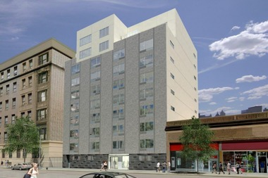 Lottery for the new building at 607 W. 161st St. opened for 13 affordable housing units.