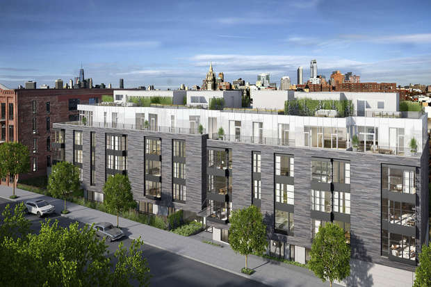 The luxury condo building in Carroll Gardens is 75 percent sold, the developer said.