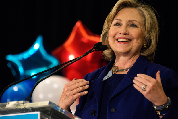 Hillary Clinton will work out of the top two floors of 1 Pierrepont Plaza during her presidential run, Politico reported.