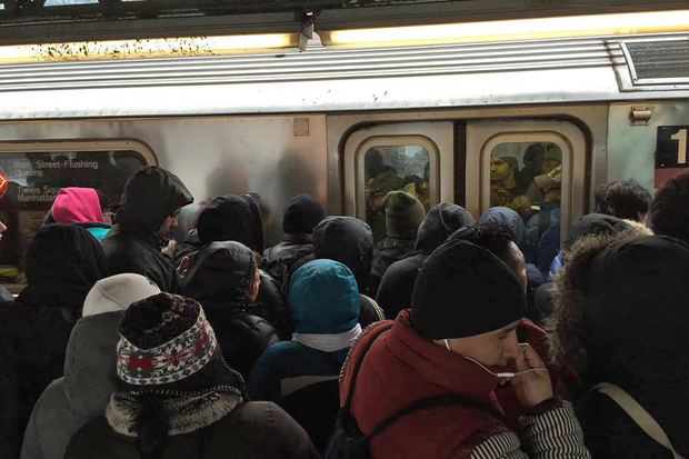 Subway ridership is exploding with 1.751 billion straphangers riding the rails in 2014, a 2.6 percent increase from the year before, according to the Metropolitan Transit Authority.