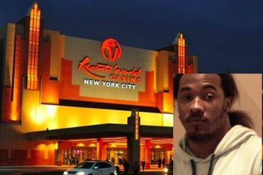 Police said Jaquan Roberts, 22, was arrested for firing a gun Friday night at the parking lot of Resorts World Casino in South Ozone Park.