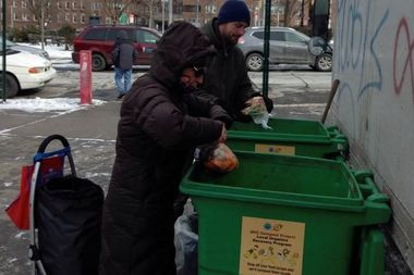 Three new food scrap drop-off locations recently opened in Eastern Queens.