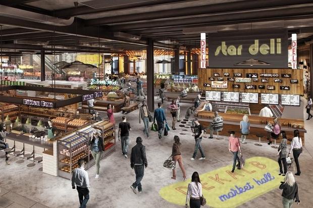 Dekalb Food Court Brooklyn