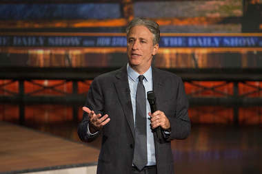 Comedian Jon Stewart announced that his final episode of