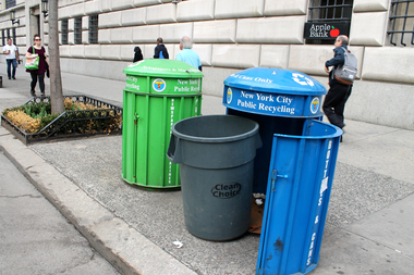A potential work stoppage at a Brooklyn recycling facility could cause an overflow of waste at transfer stations throughout the city, union officials said.