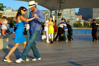 The 2017 Summer on the Hudson festival will feature tango dance lessons.