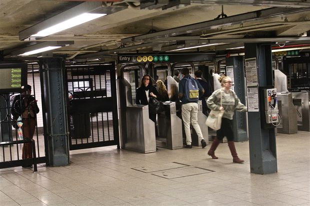 Downtown 6 Trains Won't Stop South of Union Square Friday Evening, MTA Says