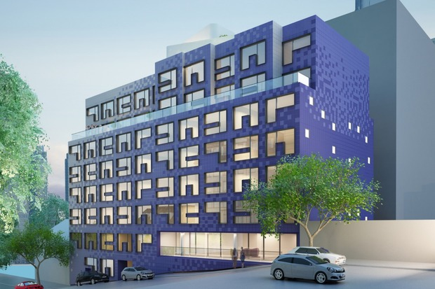 The Lilak, by HAP Developers, will go up at 655 W. 187th St..