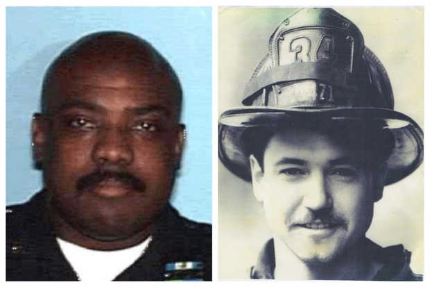 Police Officer Bruce Reynolds and Firefighter John Sullivan lost thier lives in the line of service.