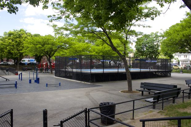Map dozens of queens parks will get share of 32m from for Garden school pool jackson heights