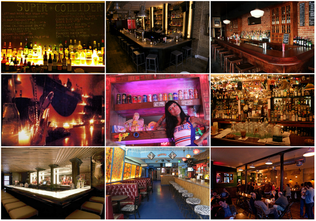 The top 20 nyc bar names according to branding experts for Bar la oficina