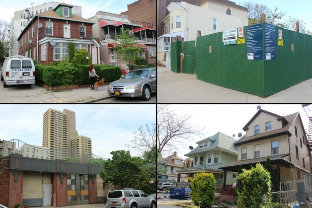 DNAinfo New York rounded up 13 soon-to-be residential building projects in the neighborhood in spring of 2015.