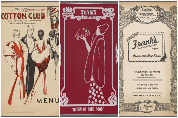 Photos Menus From Old Harlem Hot Spots Show Area S Foodie