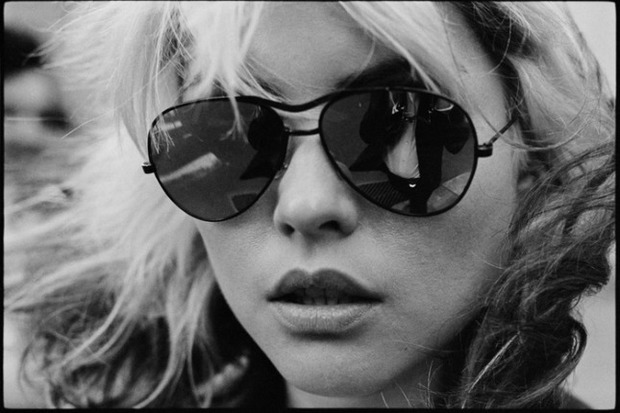 One of the items available for bidding in the P.S. 3 auction is this portrait of Blondie frontwoman Debbie Harry, taken and donated by the band's co-founder and lead guitarist, Chris Stein.