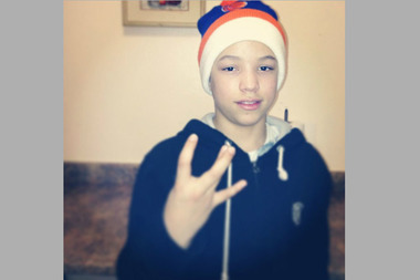 Christopher Duran, 14, was shot and killed in the Bronx on Friday, May 22, 2015, police and family said.