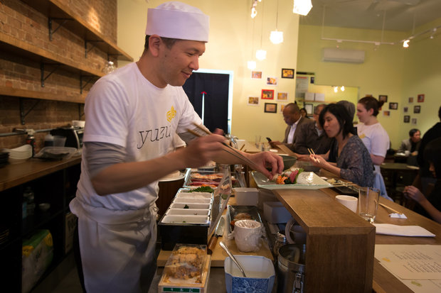 Harlem's new sushi restaurant feaures a chef with more than 20 years of experience.
