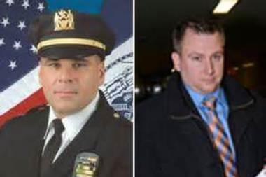 Lt. Adam Lamboy, former Manhattan Special Victims commander, filed for retirement after admitting he went on drunken pub crawl with a SVU detective and a Manhattan rape victim they interviewed in Seattle.