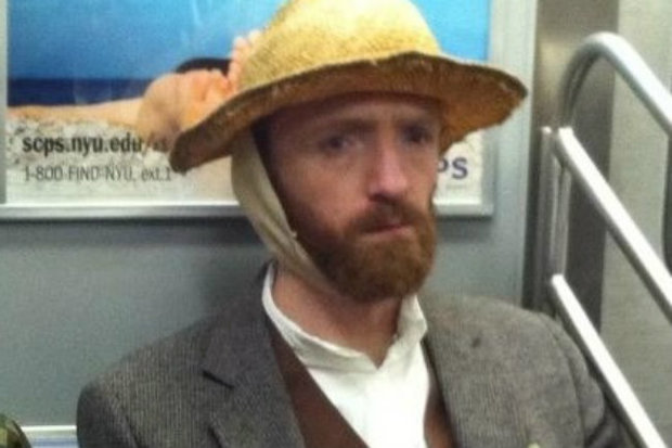 Vincent van Gogh doppelganger Robert Reynolds said he gets stopped on the street and subway on a weekly basis for his likeness to the painter.